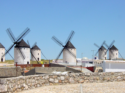 Des moulins à vent