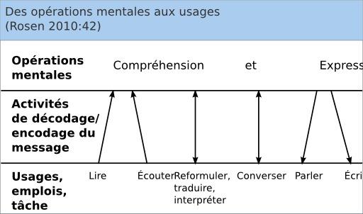 Des opérations mentales aux usages en langues