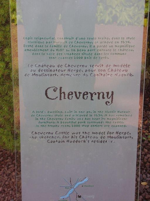 Descriptif du château de Cheverny