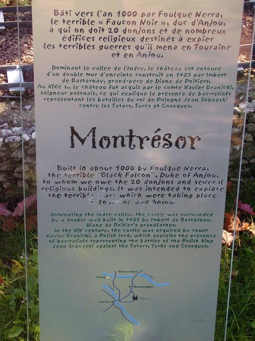 Descriptif du château de Montrésor