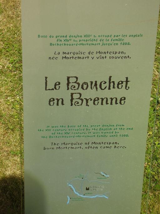 Descriptif du château du Bouchet en Brenne