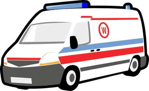 Dessin d'ambulance
