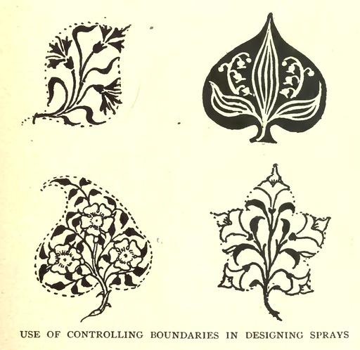 Dessin de contour de feuille