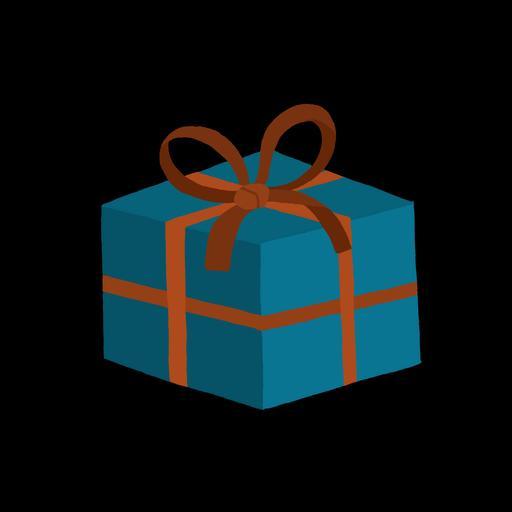 Dessin de paquet cadeau
