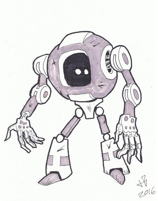 Dessin de robot - 29
