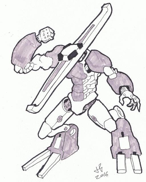 Dessin de robot - 30