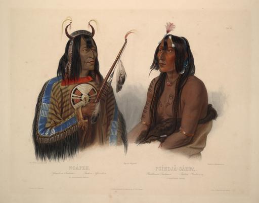 Deux amérindiens