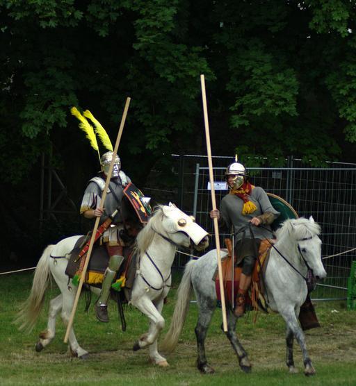 Deux cavaliers romains