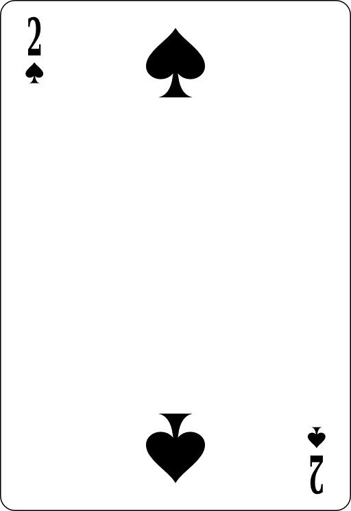 Deux de pique