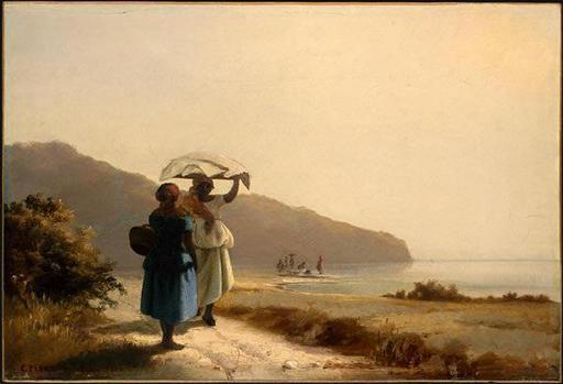 Deux femmes dans les Iles Vierges