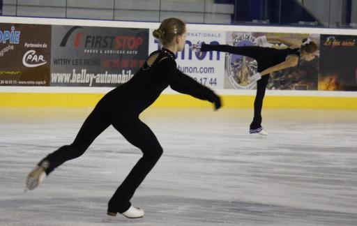 Deux patineuses en 2013
