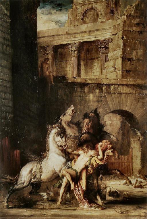 Diomède dévoré par ses chevaux