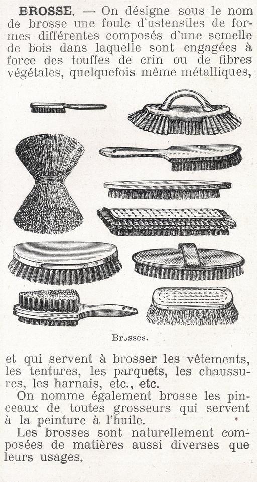 Dix types de brosses