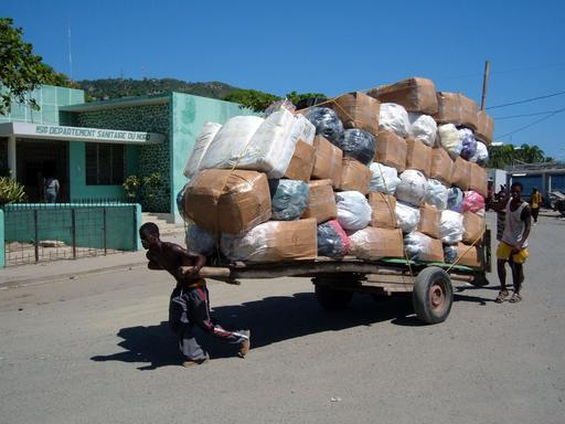Dockers à Cap-Haitien