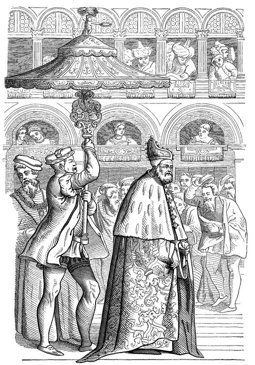 Doge de Venise au Seizième siècle