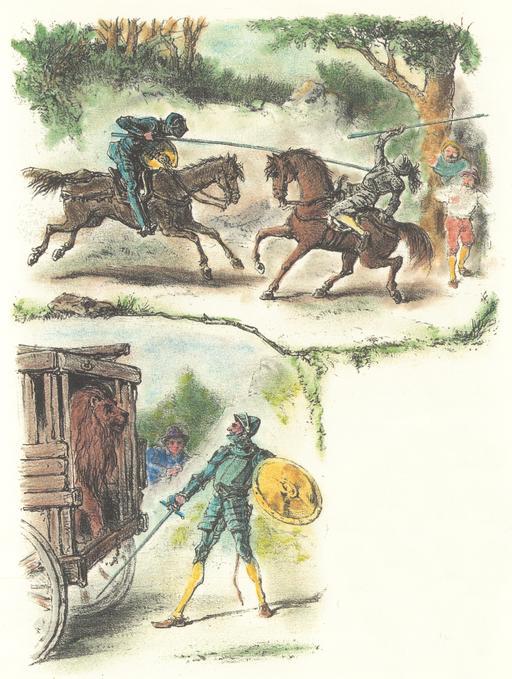 Don Quichotte pour enfants - 09