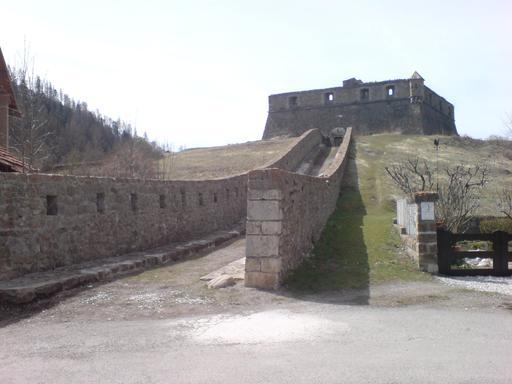 Double caponnière du fort de France à Colmars
