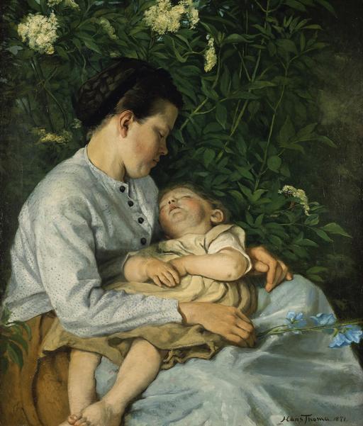Double sieste en 1871