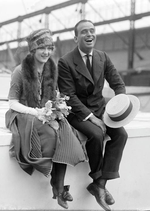 Douglas Fairbanks et Mary Pickford en 1920