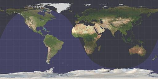 Durée du jour et de la nuit sur terre