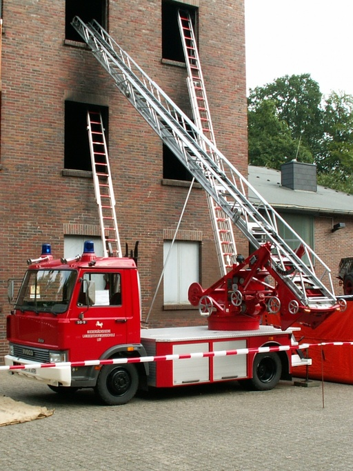 Échelle de pompiers