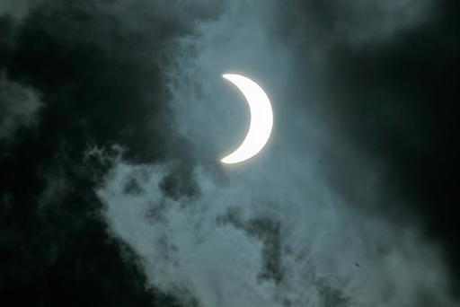 Éclipse de soleil en novembre 2012