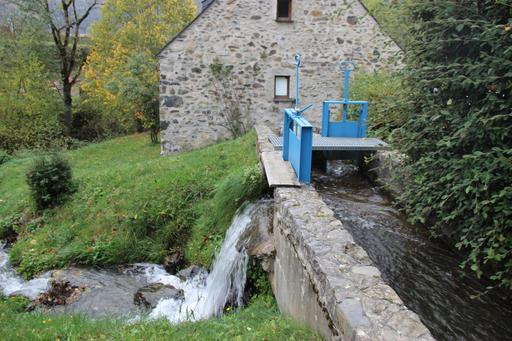 Écluse du moulin de La Mousquère