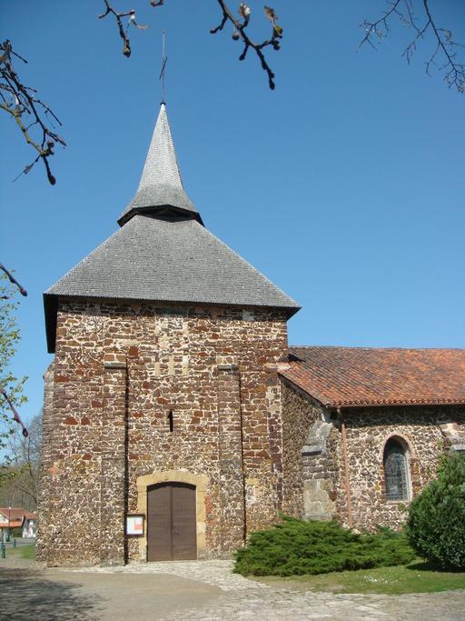 Église landaise en garluche