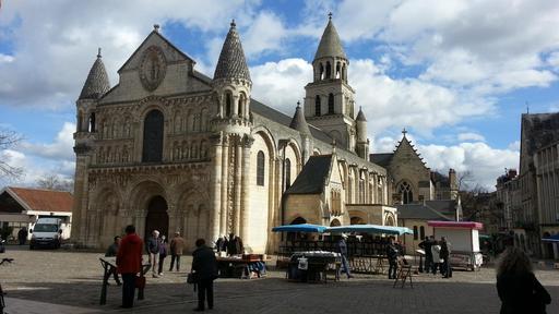 Eglise romane Notre-Dame-la-Grande de Poitiers