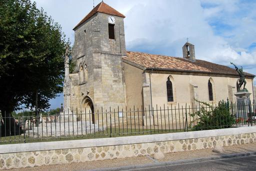 Eglise Saint-Roch et Monument aux morts