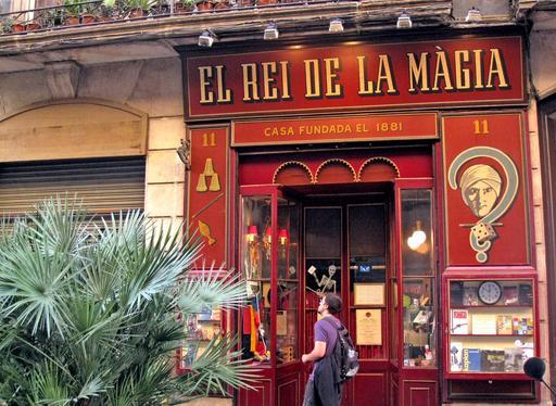 El Rei de la Màgia à Barcelone