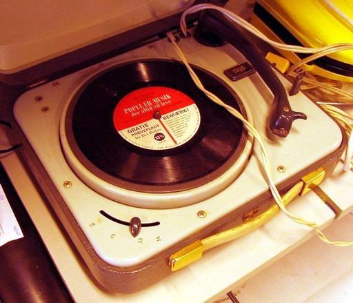 Électrophone des années 60
