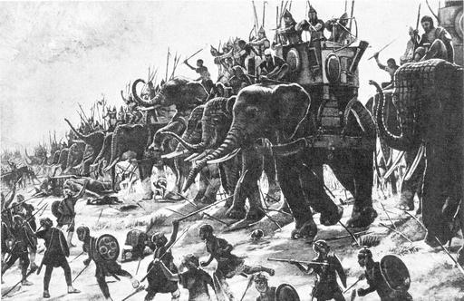 Éléphants de guerre carthaginois