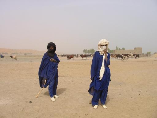 Éleveurs Peuls au Mali