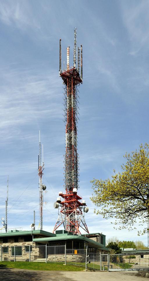 Émetteur du mont Royal à Montréal