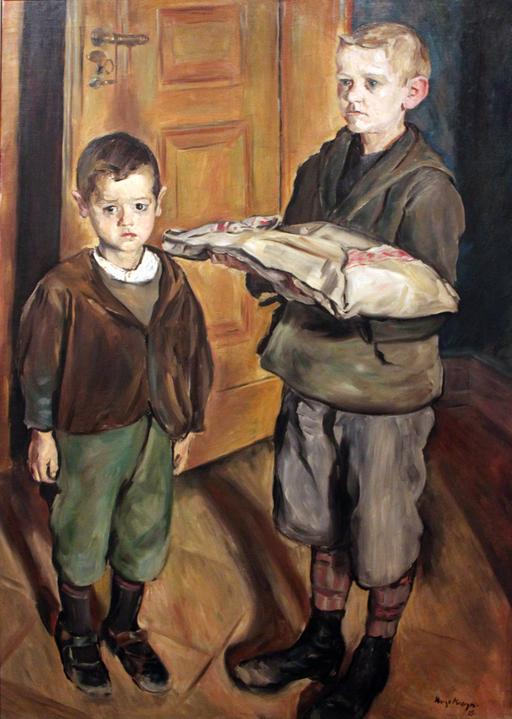 Enfants livreurs en 1915