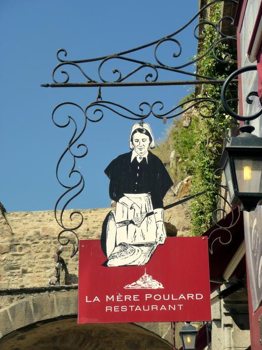 Enseigne de la Mère Poulard