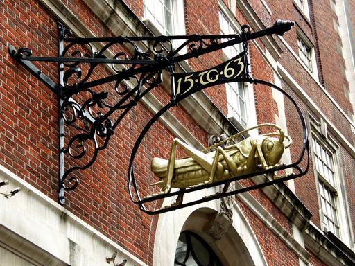 Enseigne du criquet à Londres