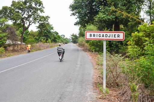 Entrée de Brigadjier en Casamance