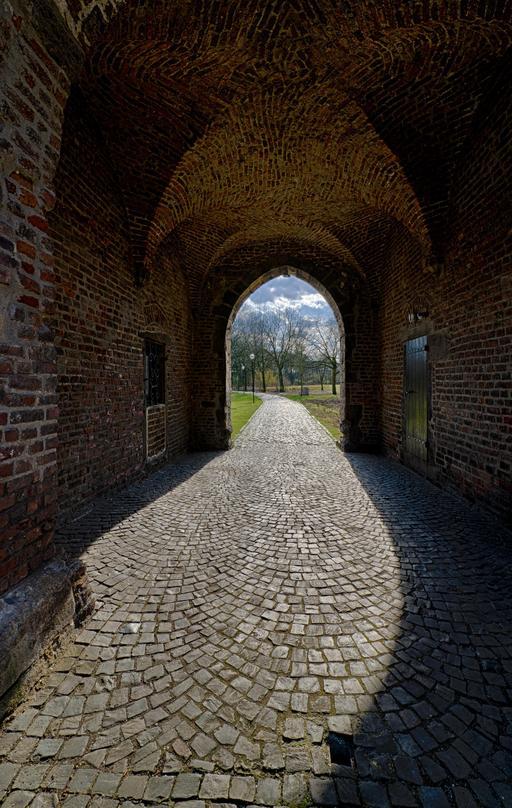 Entrée du château de Vondern
