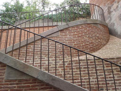 Escalier de Veyre à Albi