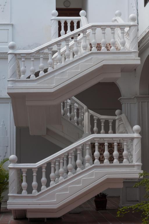Escalier monumental au Vénézuéla