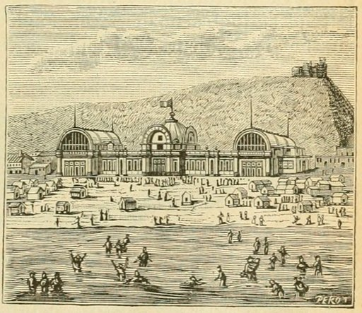 Établissement de bains de mer au XIXème siècle