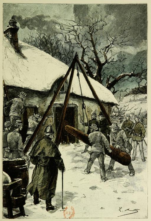 Éviction en hiver