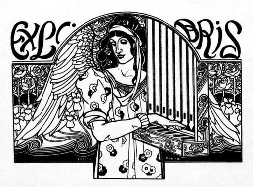 Ex libris d'organiste