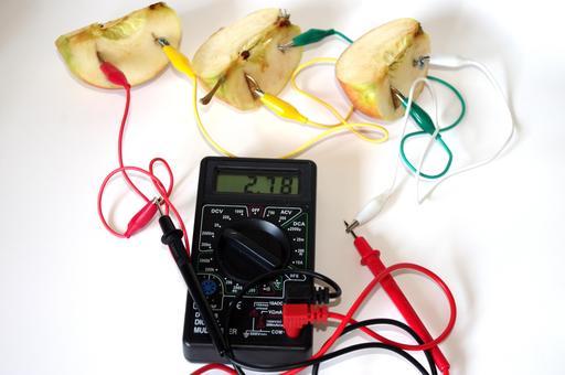 Expérimentation du courant électrique