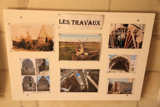 Exposition au moulin de Bléré
