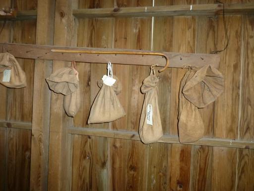 Eysines, Écomusée du maraîchage - sacs de graines