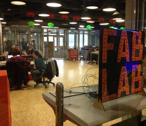 Fab lab de la cité des sciences de Paris