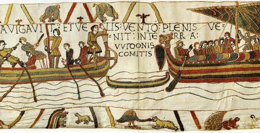 Fables d'Ésope sur la tapisserie de Bayeux